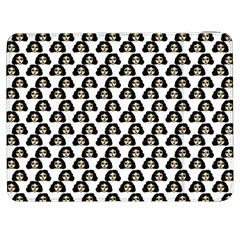 Angry Girl Pattern Samsung Galaxy Tab 7  P1000 Flip Case