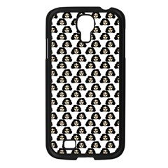 Angry Girl Pattern Samsung Galaxy S4 I9500/ I9505 Case (black)