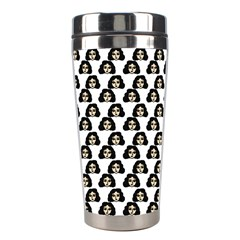 Angry Girl Pattern Stainless Steel Travel Tumblers