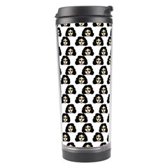 Angry Girl Pattern Travel Tumbler