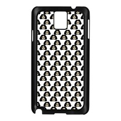 Angry Girl Pattern Samsung Galaxy Note 3 N9005 Case (black)