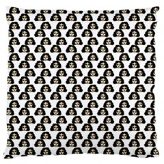 Angry Girl Pattern Large Flano Cushion Case (one Side)