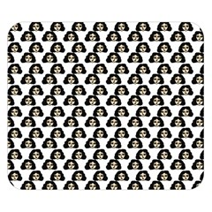Angry Girl Pattern Double Sided Flano Blanket (small)