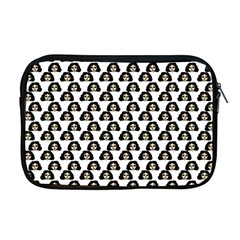 Angry Girl Pattern Apple Macbook Pro 17  Zipper Case