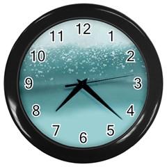 Waterworks Wall Clocks (black)