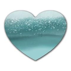 Waterworks Heart Mousepads
