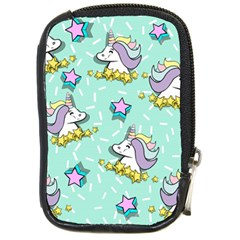 Magical Happy Unicorn And Stars Compact Camera Cases