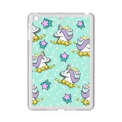 Magical Happy Unicorn And Stars Ipad Mini 2 Enamel Coated Cases