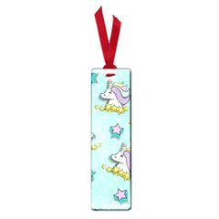 Magical Happy Unicorn And Stars Small Book Marks