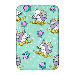 Magical Happy Unicorn And Stars Samsung Galaxy Note 8 0 N5100 Hardshell Case