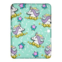 Magical Happy Unicorn And Stars Samsung Galaxy Tab 4 (10 1 ) Hardshell Case