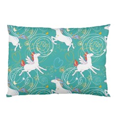 Magical Flying Unicorn Pattern Pillow Case (two Sides)