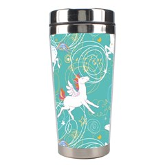 Magical Flying Unicorn Pattern Stainless Steel Travel Tumblers