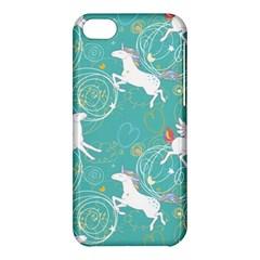 Magical Flying Unicorn Pattern Apple Iphone 5c Hardshell Case