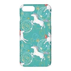 Magical Flying Unicorn Pattern Apple Iphone 7 Plus Hardshell Case