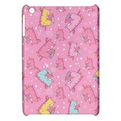 Unicorns Eating Ice Cream Pattern Apple Ipad Mini Hardshell Case