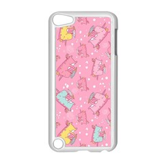 Unicorns Eating Ice Cream Pattern Apple Ipod Touch 5 Case (white)