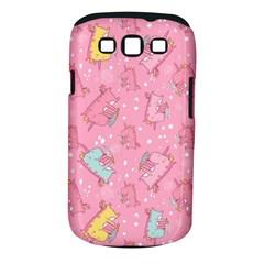 Unicorns Eating Ice Cream Pattern Samsung Galaxy S Iii Classic Hardshell Case (pc+silicone)