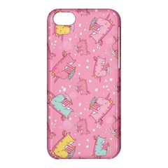 Unicorns Eating Ice Cream Pattern Apple Iphone 5c Hardshell Case