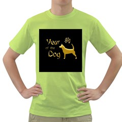 Year Of The Dog   Chinese New Year Green T Shirt