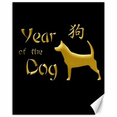 Year Of The Dog   Chinese New Year Canvas 16  X 20