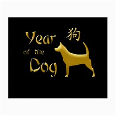 Year Of The Dog   Chinese New Year Small Glasses Cloth (2 Side)