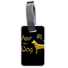 Year Of The Dog   Chinese New Year Luggage Tags (two Sides)
