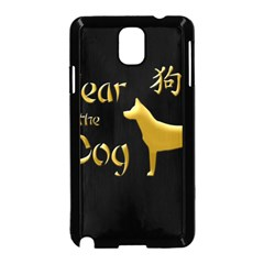 Year Of The Dog   Chinese New Year Samsung Galaxy Note 3 Neo Hardshell Case (black)