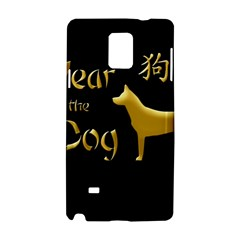 Year Of The Dog   Chinese New Year Samsung Galaxy Note 4 Hardshell Case