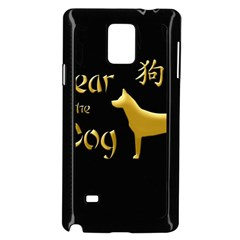 Year Of The Dog   Chinese New Year Samsung Galaxy Note 4 Case (black)