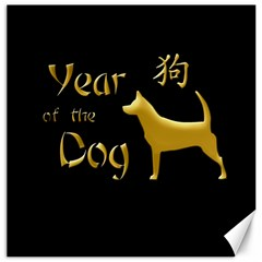 Year Of The Dog   Chinese New Year Canvas 16  X 16