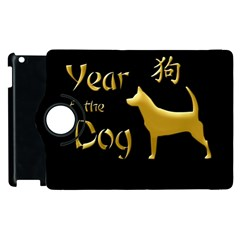 Year Of The Dog   Chinese New Year Apple Ipad 2 Flip 360 Case