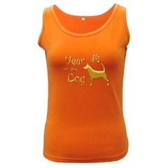 Year Of The Dog   Chinese New Year Women s Dark Tank Top
