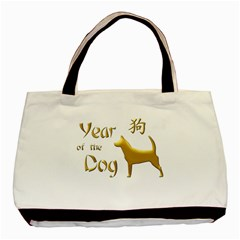 Year Of The Dog   Chinese New Year Basic Tote Bag (two Sides)