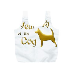 Year Of The Dog   Chinese New Year Full Print Recycle Bags (s)