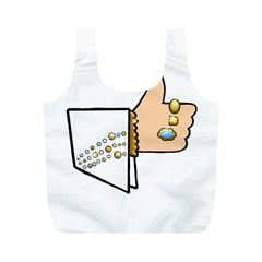 Elvis   Like Full Print Recycle Bags (m)
