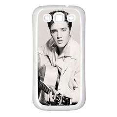 Elvis Presley Samsung Galaxy S3 Back Case (white)
