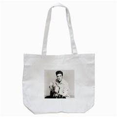 Elvis Presley Tote Bag (white)