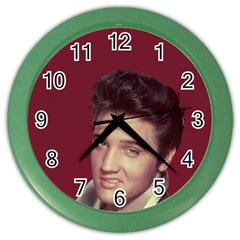 Elvis Presley Color Wall Clocks