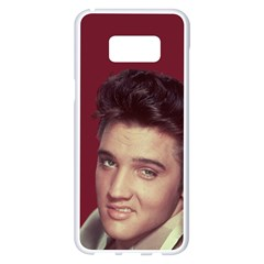 Elvis Presley Samsung Galaxy S8 Plus White Seamless Case