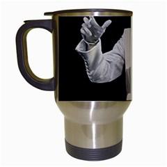 Elvis Presley Travel Mugs (white)