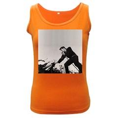 Elvis Presley Women s Dark Tank Top