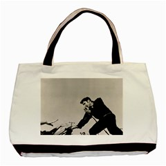 Elvis Presley Basic Tote Bag (two Sides)