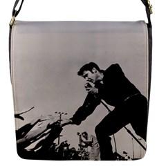 Elvis Presley Flap Messenger Bag (s)