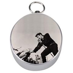 Elvis Presley Silver Compasses