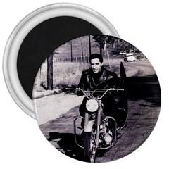 Elvis Presley 3  Magnets