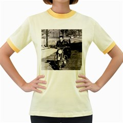 Elvis Presley Women s Fitted Ringer T Shirts