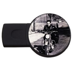 Elvis Presley Usb Flash Drive Round (4 Gb)