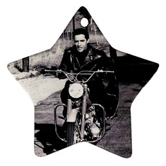 Elvis Presley Star Ornament (two Sides)