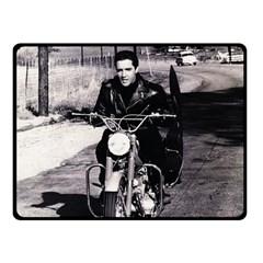 Elvis Presley Double Sided Fleece Blanket (small)